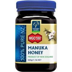 Manuka Health Manuka Honey MGO550+